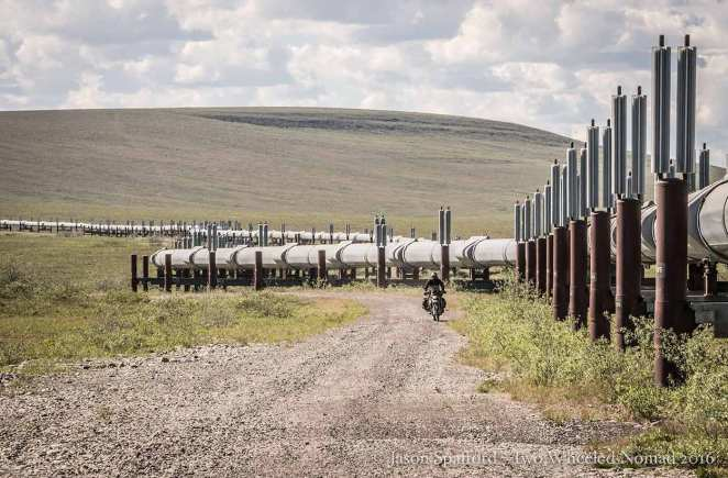 Jason loitering near the pipeline.