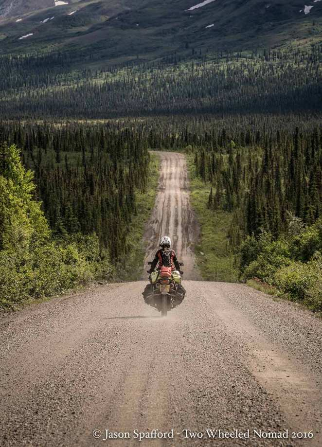 Lapping up Alaska on the Denali Highway.