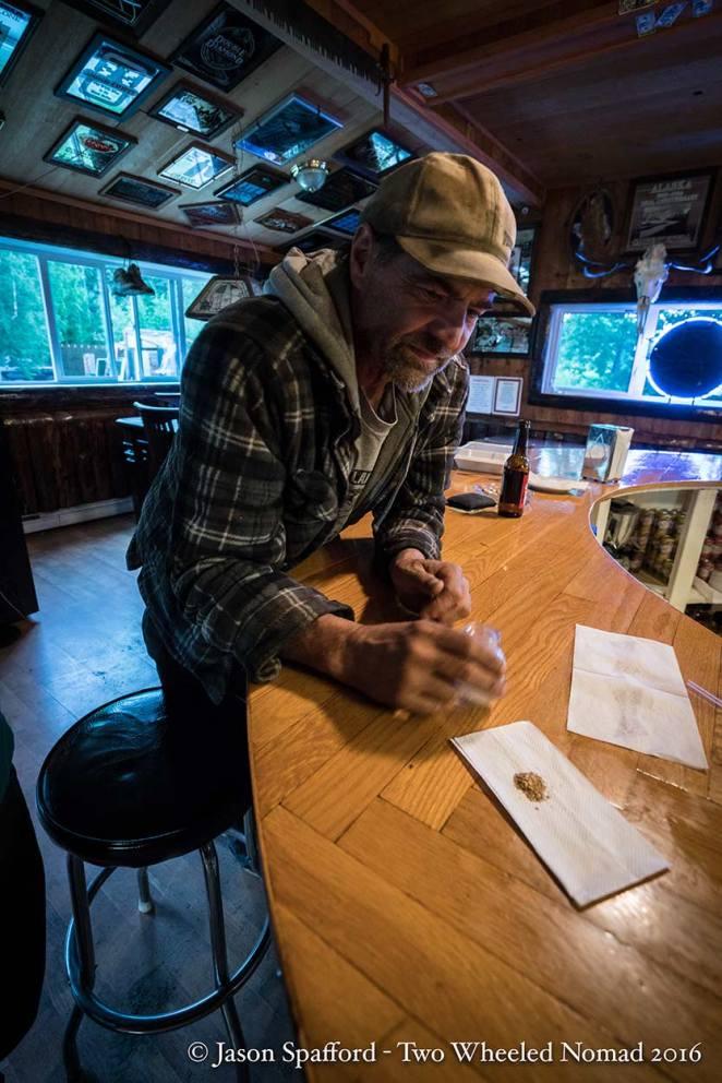 Resident Doug: Manley's treasured gold miner.