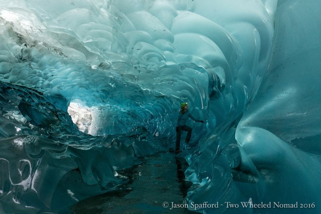 It's colder in an ice cave than you think.