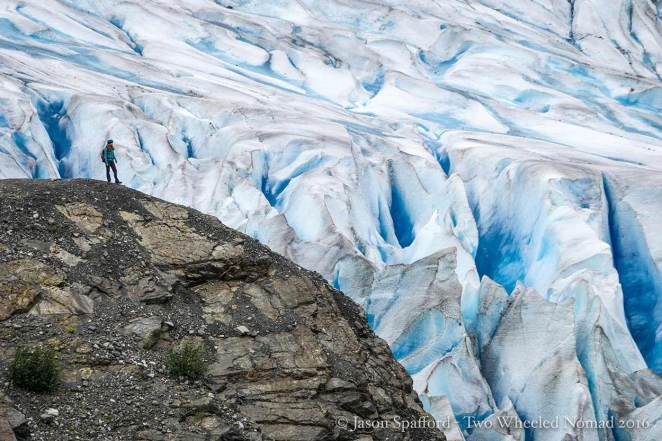 Mendenhall Glacier in all its heavenly glory.