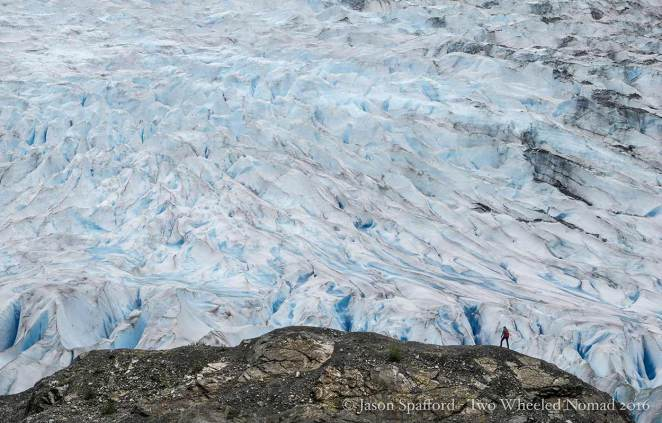 So much glacier.