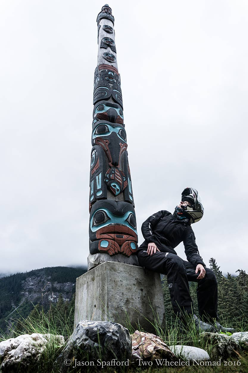 Incredible craftsmanship goes into the artwork that adorns the totem poles in Southeast Alaska.