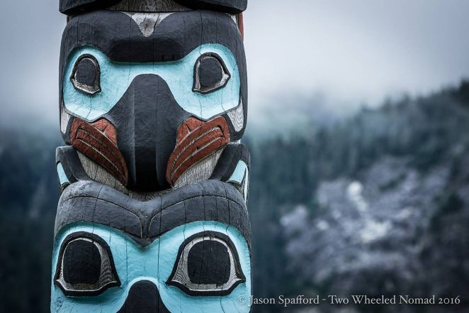 Totems are a strong symbolic part of Southeast Alaska Native culture.