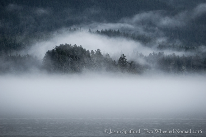 The infamous mist near Juneau, Alaska.