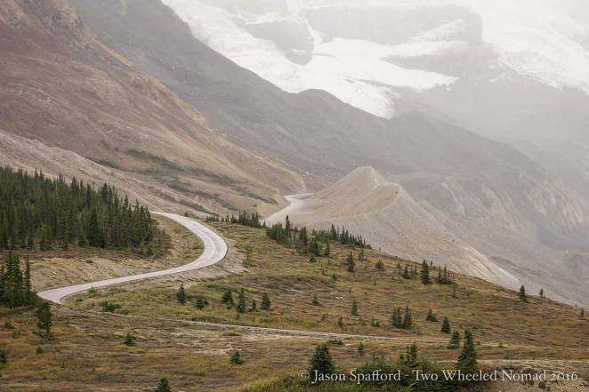 The Icefields Parkway opens up the vast beauty of Banff National Park.